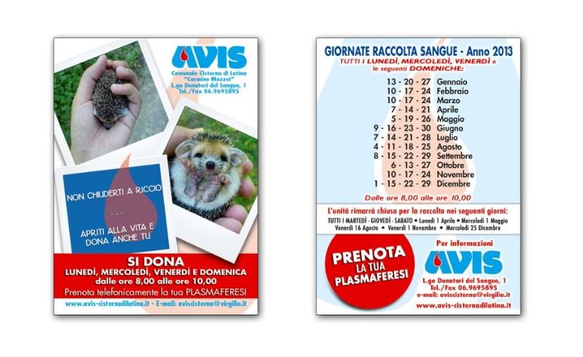 Calendario Avis.Calendario Avis Cisterna Di Latina